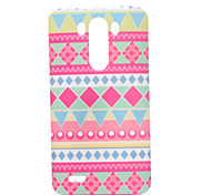 For LG Case Pattern Case Back Cover Case Lines / Waves Soft TPU LG