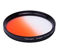 TIANYA 58mm Circular Graduated Orange Filter for Canon 650D 700D 600D 550D 500D 60D 18-55mm Lens
