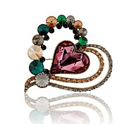 I FREE®Women's Fashion High-grade Crystal Brooches 1 pc