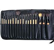 Maquillaje 18 PC cepillos cosméticos del conjunto económico