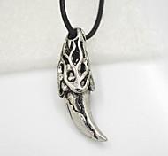 Spike Horn Necklace