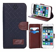 Plaid Belt Buckle Holster Cases for iPhone 6 (Assorted Colors)