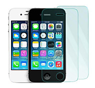 2Pack 0.33mm Tempered Glass Screen Protector with Microfiber Cloth  for iPhone 4 / 4S