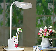5W Lovely Cartoon Energy Saving Student Reading Lamp With Pen Container 220V