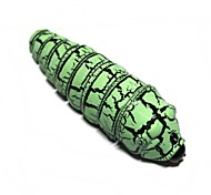 Magical Plastic Caterpillar Toy for Children / Kids - Cyan + Black (3 x AG13)