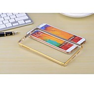 Samsung Galaxy Note 3 compatible Design Spécial Métal Etui antichocs