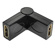HDMI Female to Female 180 Degree Rotatable Adapter