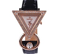 Women's Fashion Watches Leather Strap Dress Watches(Assorted Colors)