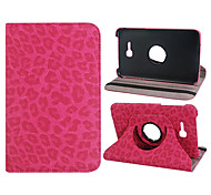 "Leopard Print Custodia in pelle a 360 gradi di rotazione Faux per Samsung Galaxy Tab 3 Lite T110 ""Tablet PC 7 (colori assortiti)"