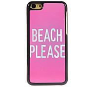 Playa favor diseñar la caja de aluminio para 5c iphone