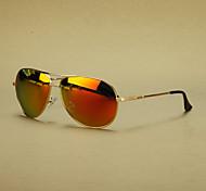 alliage aviateur rétro lunettes de soleil polarisées