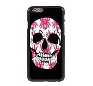 The Skull Design Aluminum Case for iPhone 6