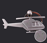 Personalized Engraved Gift Creative Helicopter Shaped Keychain