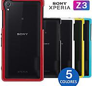 Para Funda Sony / Xperia Z3 Antigolpes Funda Acolchada Funda Un Color Dura Policarbonato SonySony Xperia Z3 / Sony Xperia Z3 Compact /