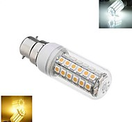 1pcs B22 9W 48X SMD 5050 1152 LM 2800-3500/6000-6500K Warm White/Cool White Corn Bulbs AC 220-240V