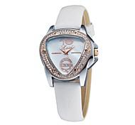 Women's Fashion Chic Antique Triangle Case Elegant Rhinestone Bracelet Watch Quartz Analog Bohemian