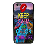 Colorful Your Life Design Hard Case for iPhone 6