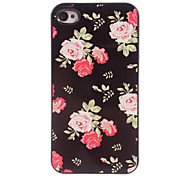 rosa custodia rigida in alluminio per iPhone 5 / 5s