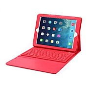 PU Leather Wireless Bluetooth Keyboard for iPad Air (Assorted Colors)