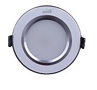 5w 450lm 3000-7000k warmes, weißes Licht geführt silberweiß receseed Leuchten (220-240V)