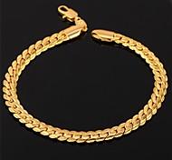 Chaînes & Bracelets / Bracelets Vintage 1pc,Doré / Rouge Rose / Argent Bracelet Alliage / Platiné / Plaqué or BijouxFemme / Hommes /