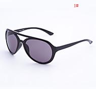 anti-reflexo de passageiro plástico retro óculos de sol