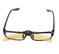 Rectangle PC Clip-on Sunglasses Lenses