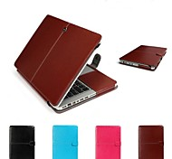 "Protective PU Leather Flip Open Case for MACBOOK Air 11.6""(Assorted Colors)"