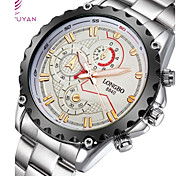 Luxury Men Watch Japan Quartz Movement 3 Decoration Dial Waterproof Wristwatches