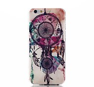 Dream Catcher Pattern Ultra Thin TPU Soft Back Cover Case for iPhone 6/6S
