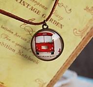 Fashion New Cute Little Car Long Necklace