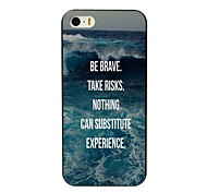 ser o caso duro projeto corajoso para iPhone 4 / 4S