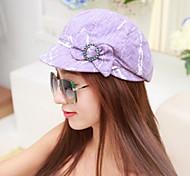 Women Cotton Bow Ivy Cap