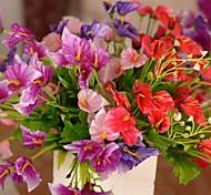 """10.2 """"l conjunto de 1 calla aconchegante seda lírio pano flores"""