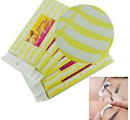 10pcs blancas adhesivas pestañas falsas extensiones de pestañas almohadilla libre almohadillas pestañas herramientas de maquillaje cinta