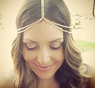 Bohemian Women's Head Chain Jewelry Forehead Dance Headpiece Hair Band