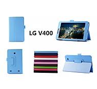 """lg caso tablet v400 casi con casi stand / corpo pieno 7 """"per LG colori solidi (colori assortiti)"""