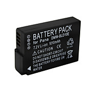 1010mAh DMW-BLD10 Camera Battery Pack for  Panasonic DMC-G3KGK DMC-G3KK DMC-G3KR  DMC-G3T DMC-G3W