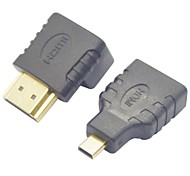 HDMI Female to Micro HDMI Male Adapter + HDMI 270 Degree Adapter