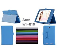 """de Acer Iconia w1-810 caso casos tableta con casos stand / cuerpo completo 8 """"para ASUS colores sólidos (color clasificado)"""