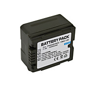 1400mAh VW-VBG130 Camcorder Battery Pack for Panasonic TM15GK TM750 TMT750 TM600GK TM650 TM350GK