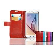 Teléfono Móvil Samsung - Carcasas de Cuerpo Completo Samsung Samsung Galaxy S6 ( Multi-color , Piel Genuina )