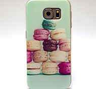 Hamburger Pattern TPU Soft Cover for Samsung Galaxy S6