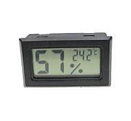 Mini termómetro portátil para escorpión insecto jaula / nevera (2 x LR44)