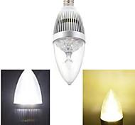 Ding Yao Lâmpada Vela E14 15 W 120 LM 2800-3500/6000-6500 K Branco Quente / Branco Frio 5 LED de Alta Potência 1 pç AC 85-265 V