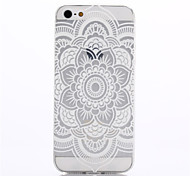 Design Especial/Transparente/Inovadora/Ultra Slim/Feito na China/Flor - iPhone 5/iPhone 5S - Capa traseira ( Colorido , PUT )