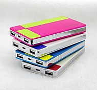 8000mAh Portable Power Bank for iPhone6/6plus/5/5s Samsung S4/5 and other Mobile Devices