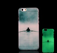 Figure Pattern Glow in the Dark Hard Case for iPhone 6