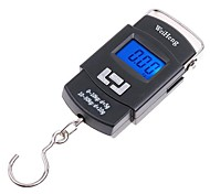 10g/50kg Professional Portable Hanging Luggage Fishing Weighing Digital Scale