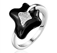 Silver Plated Rings Fashion Women's Party/Daily/Casual 1pc